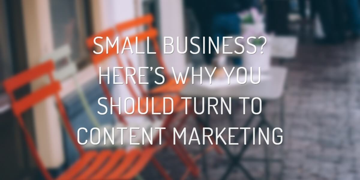 small business content marketing